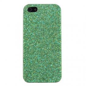 Bling Glitter Sequin Hard Back Cover Case for iPhone 5 - Green [33] On WsPrices.com
