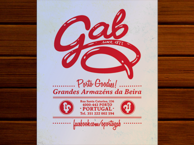 GAB flyer design by Zez Vaz