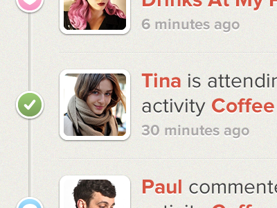 iPhone incoming activity by Eric Hoffman