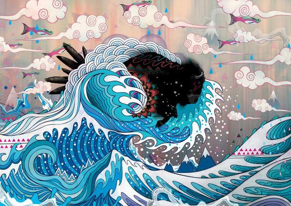 The Unstoppabull Force Art Print by Mat Miller | Society6