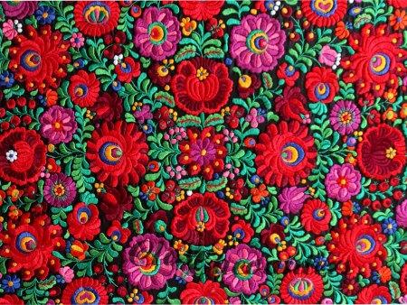 Embroidery Hungarian Magyar Matyo Folk Art by closencounters