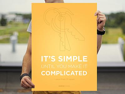 It's Simple Until You Make It Complicated
