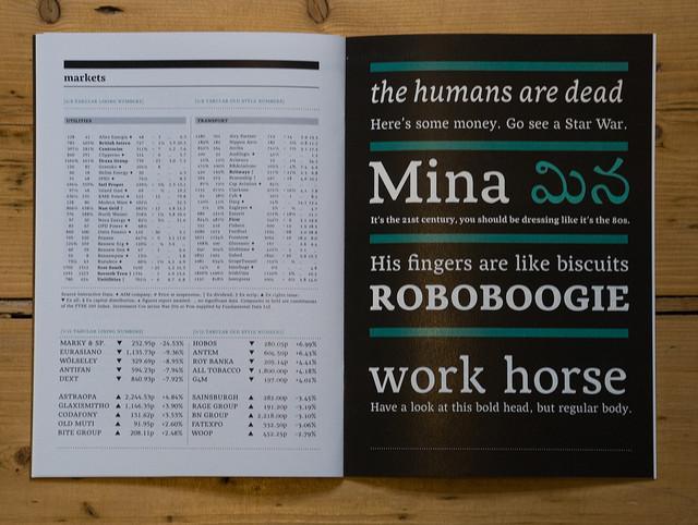 All sizes | Mina type specimen / p 12+13 | Flickr - Photo Sharing!