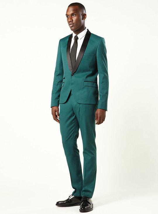 Balsam Green Skinny Tux Suit,???????????????150?????????????????????????????????1500 - ????? - ??????????? -- ??????