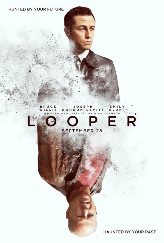 DesignersMX: Looper Movie Poster by BlakeAllen
