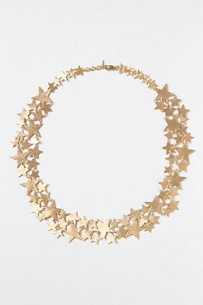 Galaxy Spray Necklace - Anthropologie.com