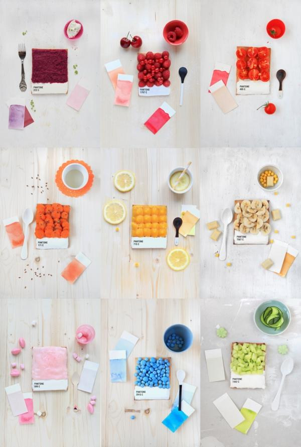Pantone Food Tarts by Emilie Griottes | Who Designed It?