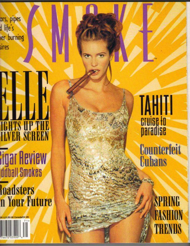 Elle Macpherson - Smoke Magazine [United States] (March 1997) Magazine Cover Photo