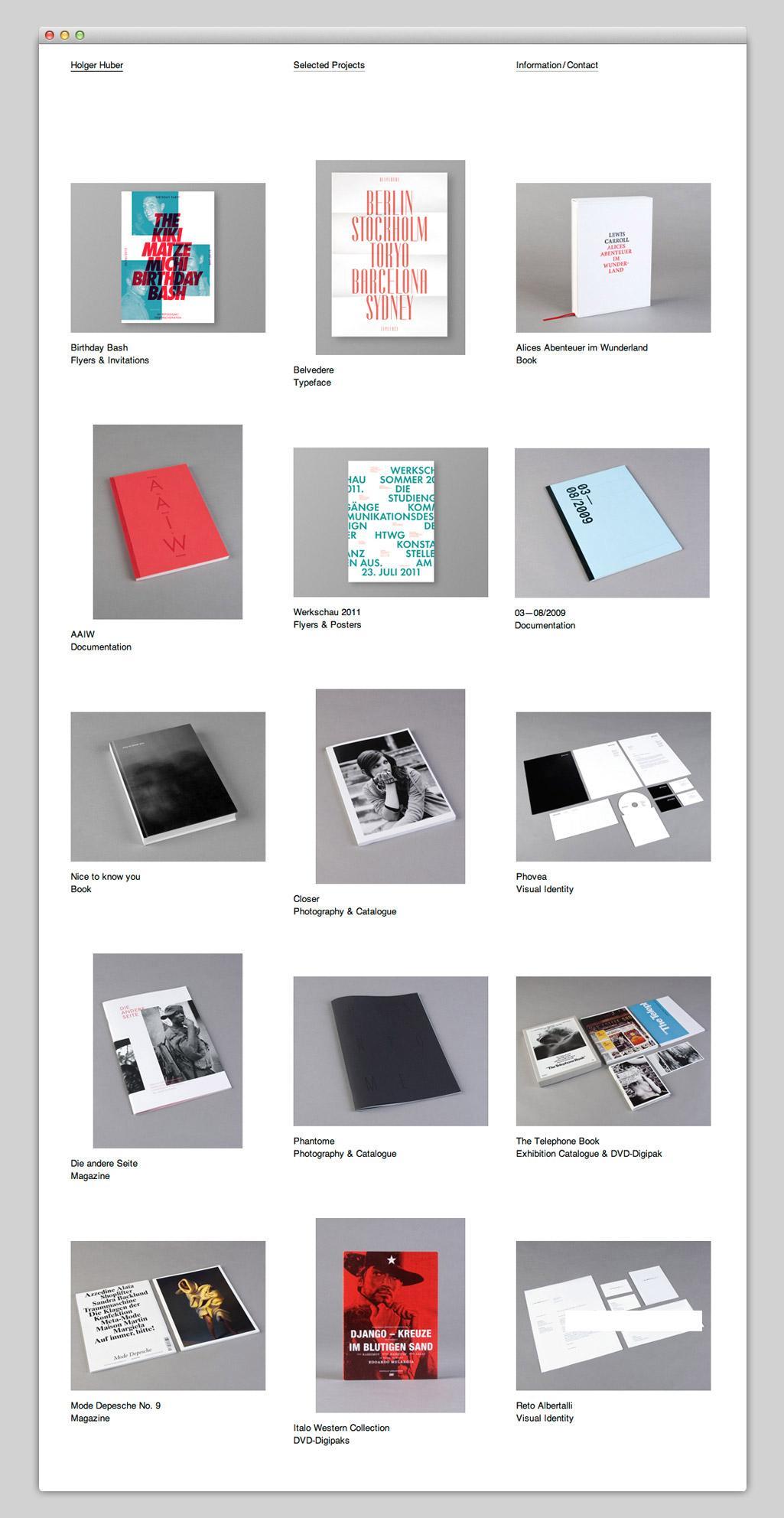Websites — Holger Huber