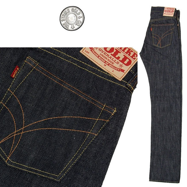 STRIKE GOLD JEANS | SELF EDGE 11% PROMOTIONAL CODE | fashionstealer