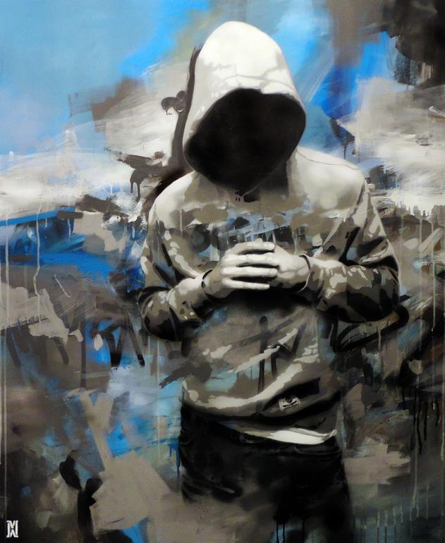 Saatchi Online Artiste: Michal Mráz; Acrylique, Peinture