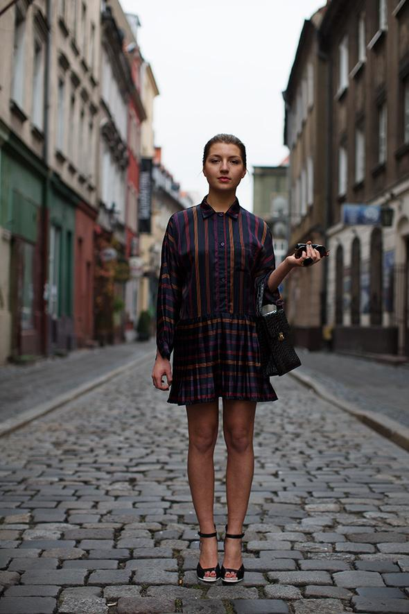 On the Street…..Kate, Pozna?, Poland « The Sartorialist