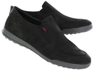 Ecco | Womens CRISP black casual slip on shoes 234063-56918