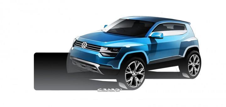 Volkswagen Taigun Concept - Car Body Design
