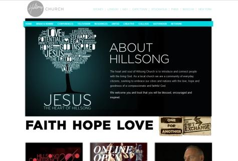 25 Beautiful Church Websites – Part IV | Vandelay Design Blog