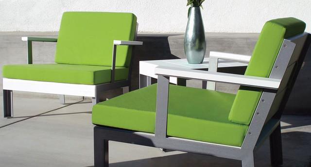 Modern Club Chair - contemporary - outdoor chairs - - by Plushpod