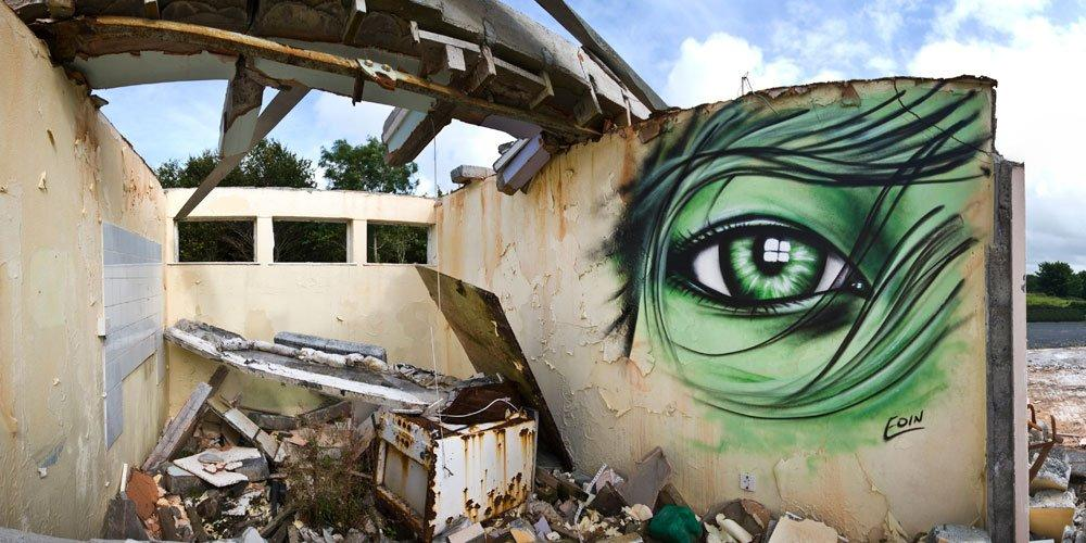 STREET ART UTOPIA » We declare the world as our canvasStreet Art by Eoin in Ireland - A Collection » STREET ART UTOPIA