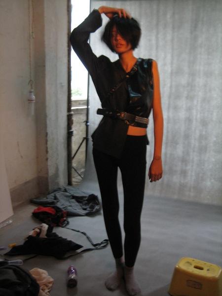 LINLI的相册-外星人小姐在工作花絮1