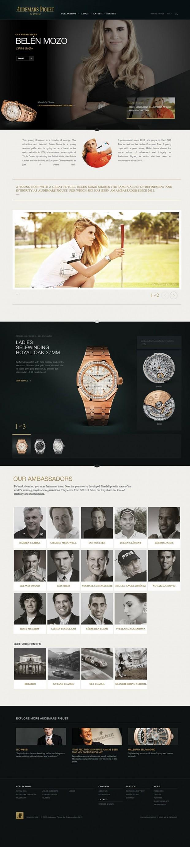 Best About Pages – Showcasing the best of the best about pages on the web » Audemars Piguet