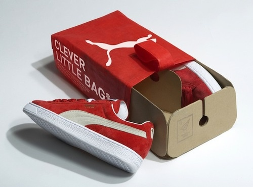 Puma and Yves Behar's new green packaging - TheDieline.com - Package Design Blog