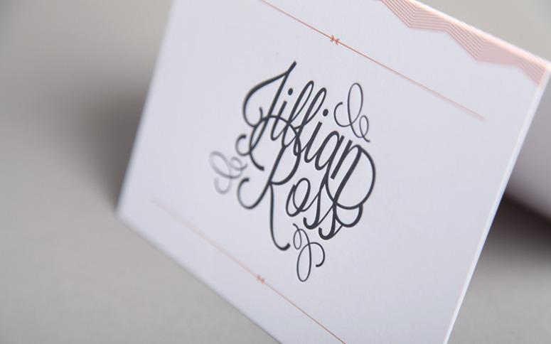 FPO: Jillian & Ross Wedding Invitation Package