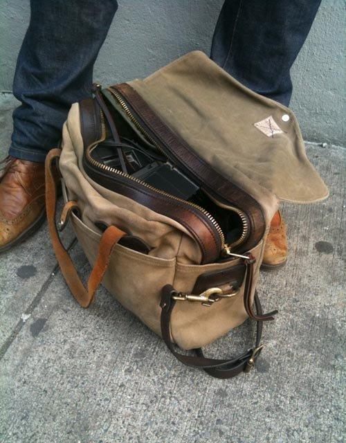 Fancy - Large Briefcase by Filson