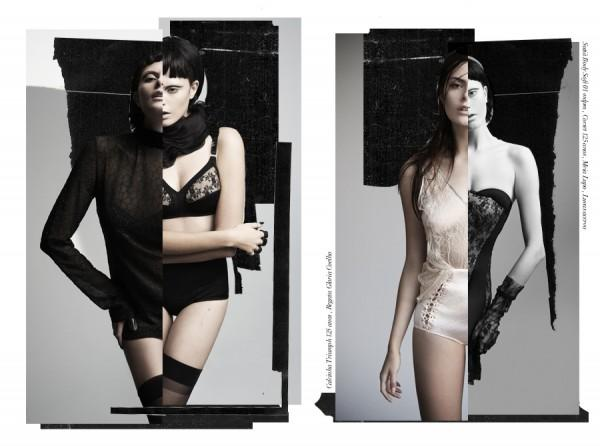 Lingerie by Nicole Heiniger with Art Direction By From Brazil With Love | Trendland: Fashion Blog & Trend Magazine