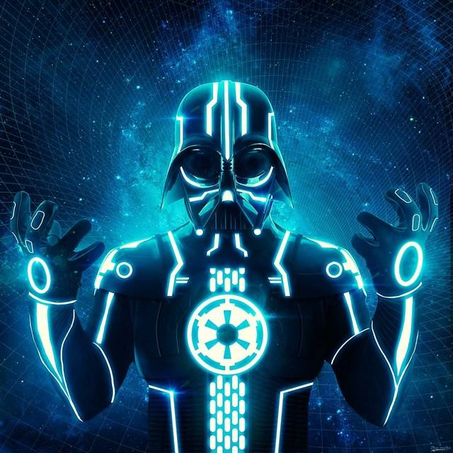 Blue Darth Tron by Dracorubio | Shadowness