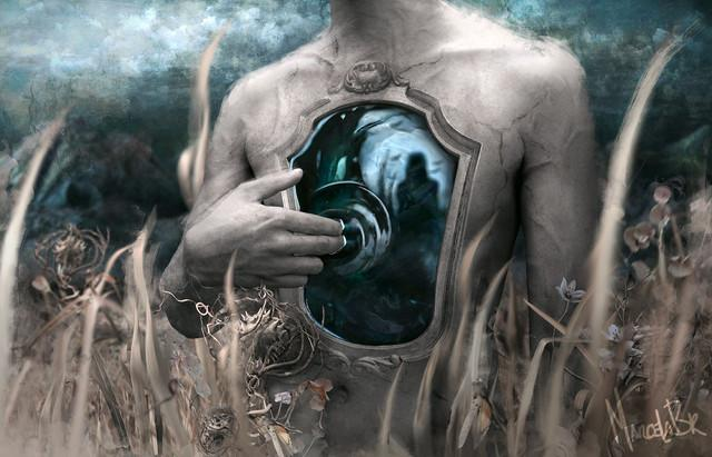 Written in waters by decrepitude | Shadowness