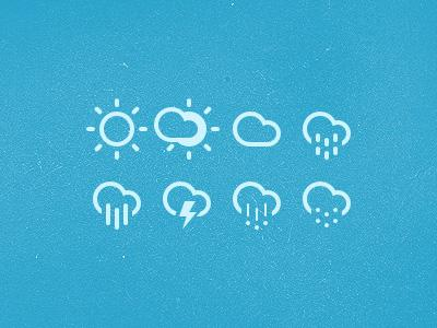 50+ beautiful cloud icons | Webdesigner Depot
