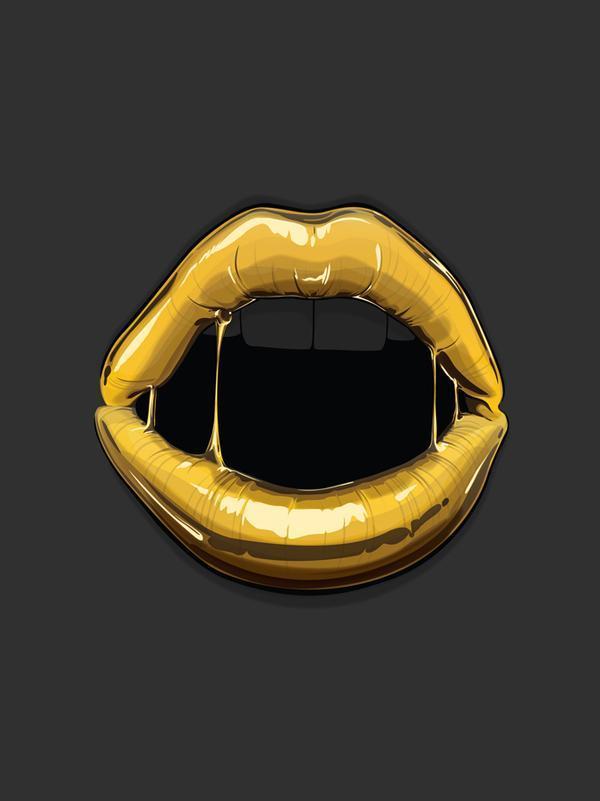 Goldie – Digital Art by Gerrel Saunders | Cuded