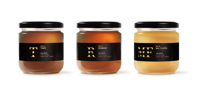 Cal Milio Honey - The Dieline -