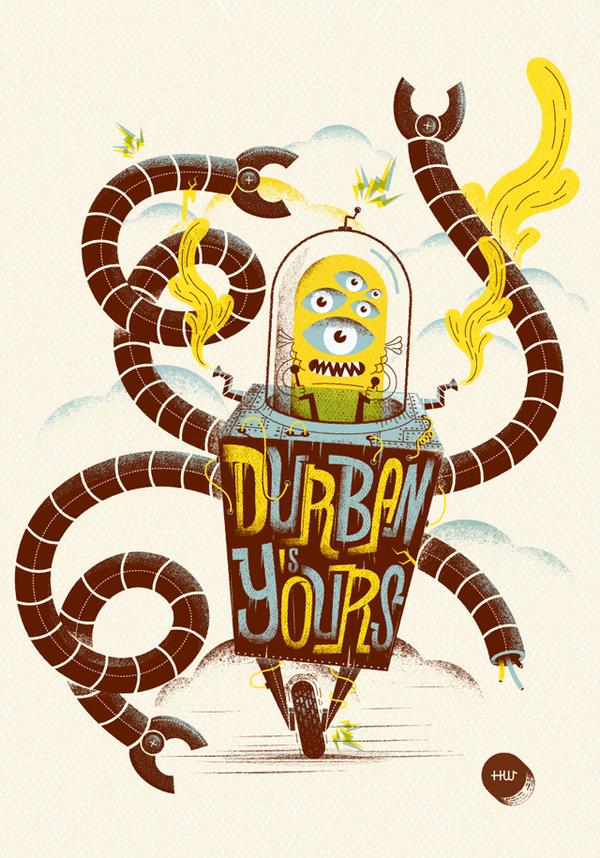 DURBAN IS YOUR - ILLUSTRATION