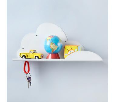 Kids' Storage: Kids' Wall Cloud Shelf in Shelf & Wall Storage