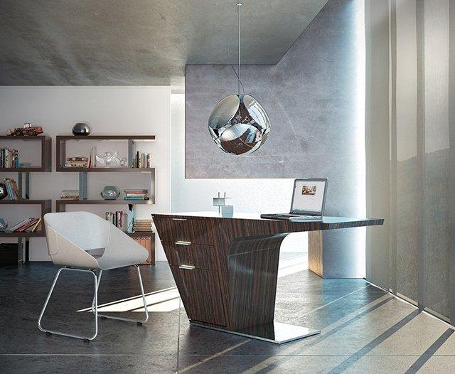 Mercer Desk by Modloft | Fancy Crave