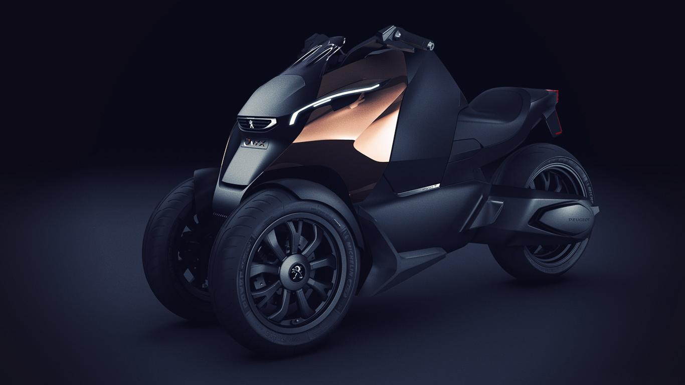 Onyx scooter - Concept Scooters Peugeot - Peugeot Motion & Emotion