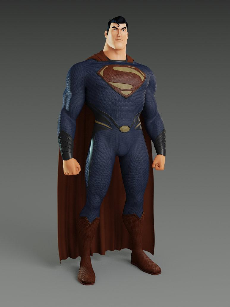 MAN OF STEEL SUPERMAN by ~alejit0