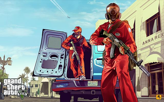 GTAV Artwork: Pest Control | Rockstar Games