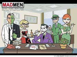 Gotham Mad Men by *BillWalko