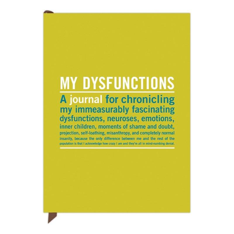 My Dysfunctions Inner Truth Journal: Knock Knock: Lifestyle | chapters.indigo.ca