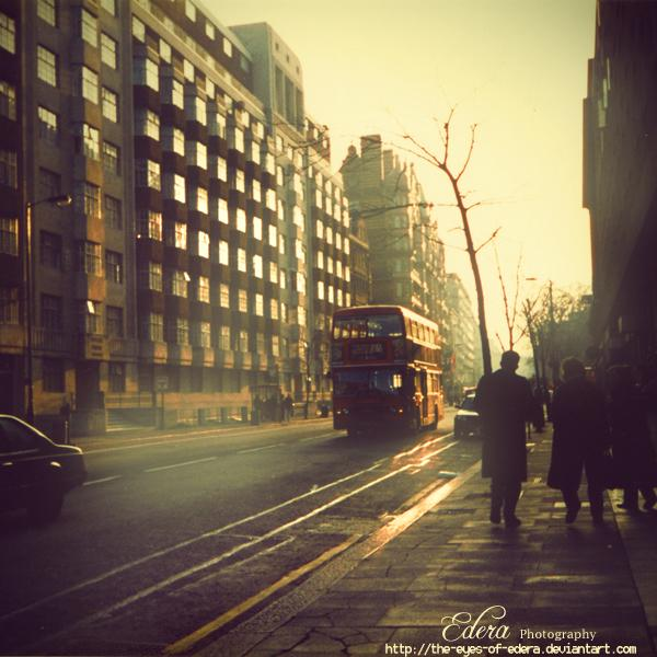 London early in the morning by ~phoenixgraphixstudio