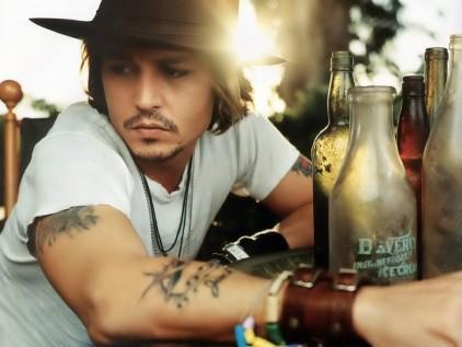 Johnny Depp Tattoo free wallpaper download no18403