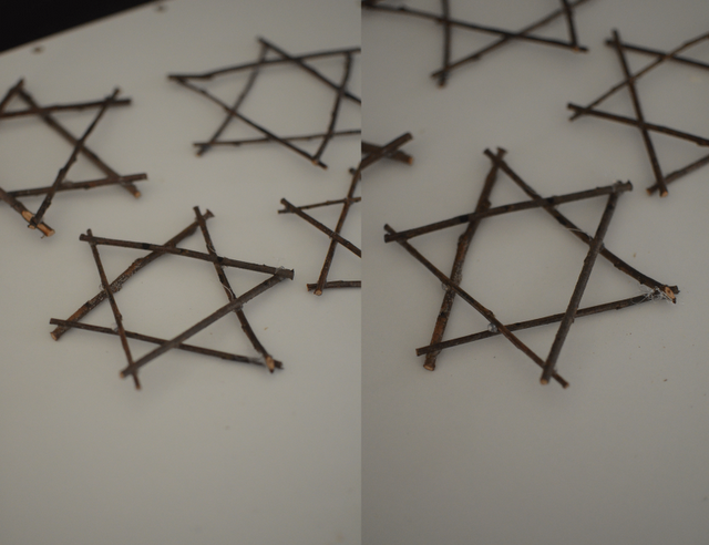 Trådsnella: DIY Davidstjerner