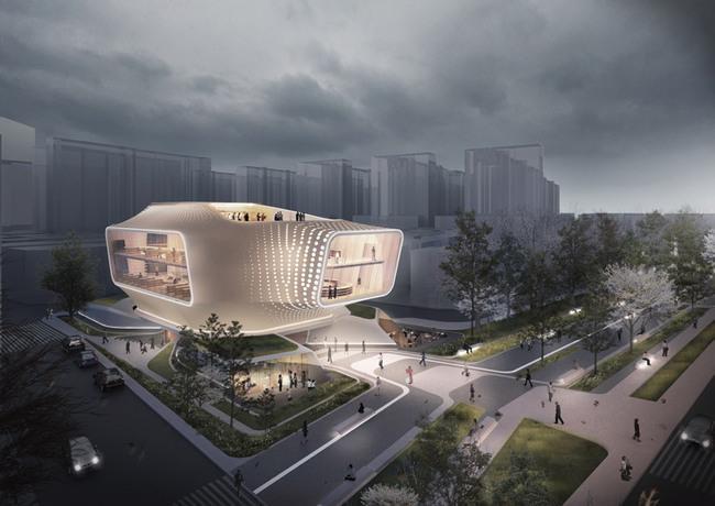 Daegu Gosan Public Library - Entries, Entries, Entries! | Gallery | Archinect