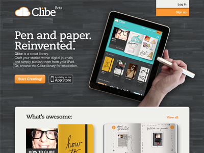Clibe Homepage by Lincoln Patrick Furrow