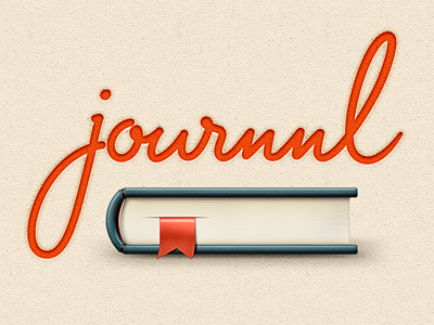 Journnl logo with icon by Tony Gines
