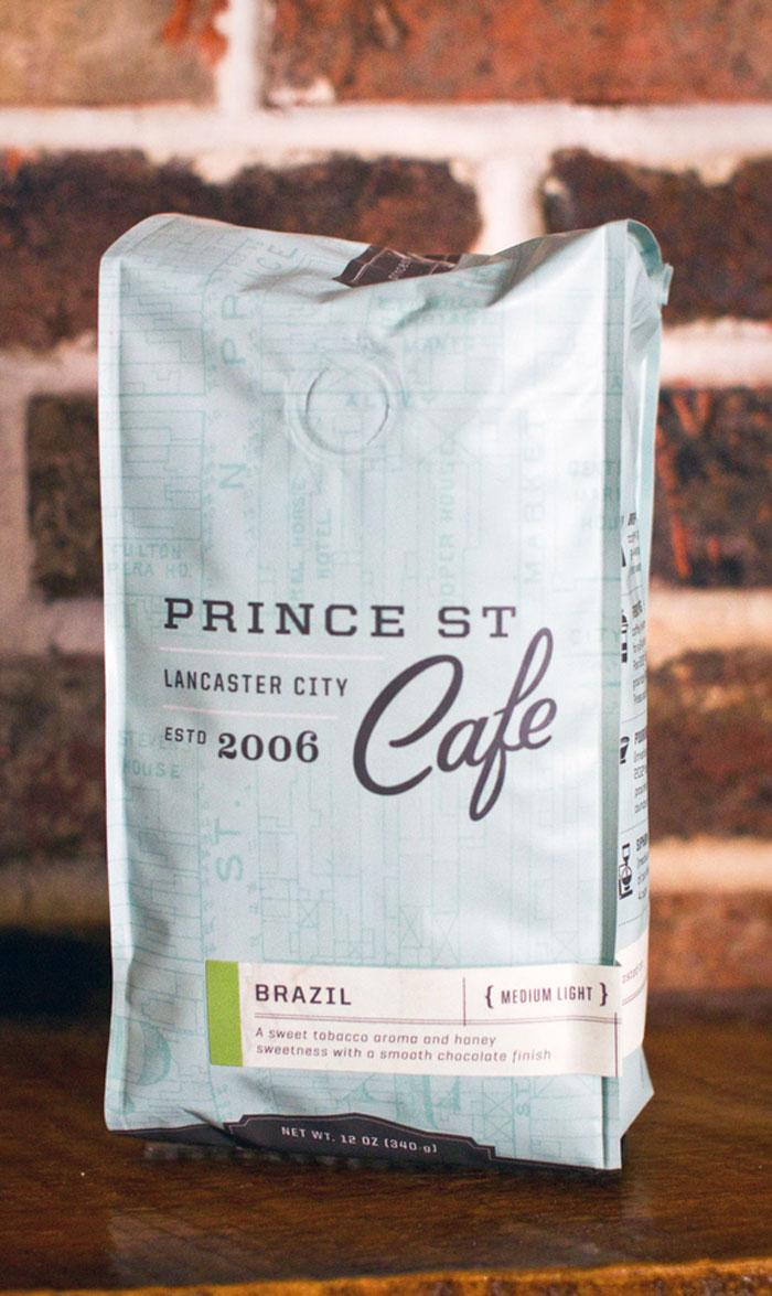 Prince StreetCafe - The Dieline -
