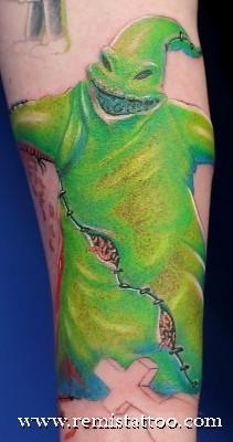 RemisTattoo.com • Gallery • Tattoo Gallery • Colour • Oogie Boogie :)