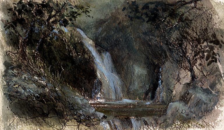 Saatchi Online Artist: Keith Andrew; Watercolor, Painting