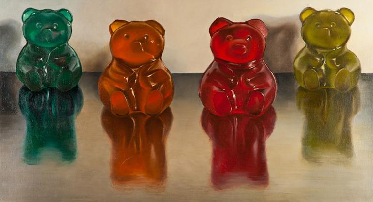 Saatchi Online Artist: Lex Hade; Oil, 2011, Painting